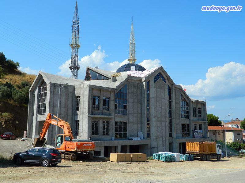 Mehmet Akif Ersoy Cami İnşaatı Devam Ediyor