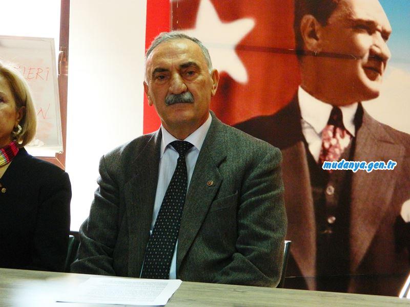 CHP İlçe Başkanı Ömer AYDIN, Başkan TÜRKYILMAZ'a Organize Saldırı Var.